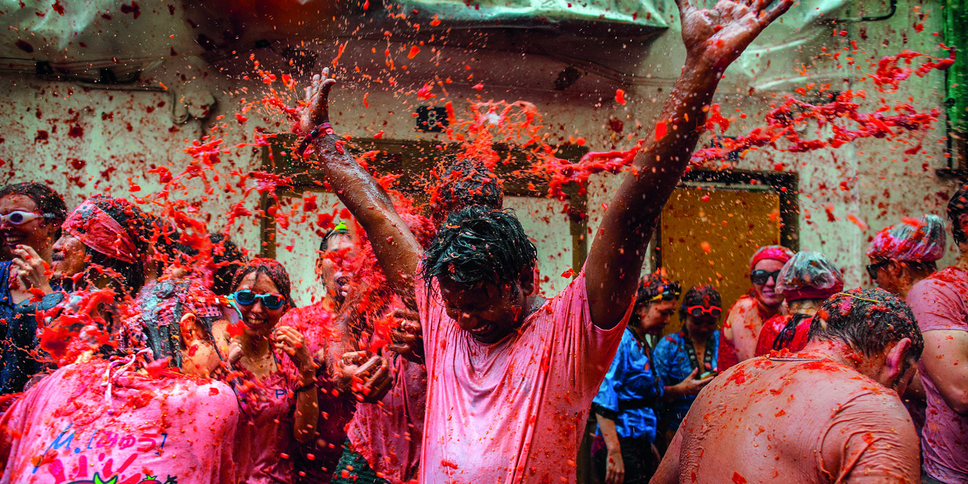 Image result for La Tomatina, Bunol, Spain