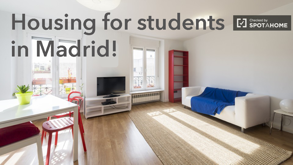 find housing in Madrid with Spotahome