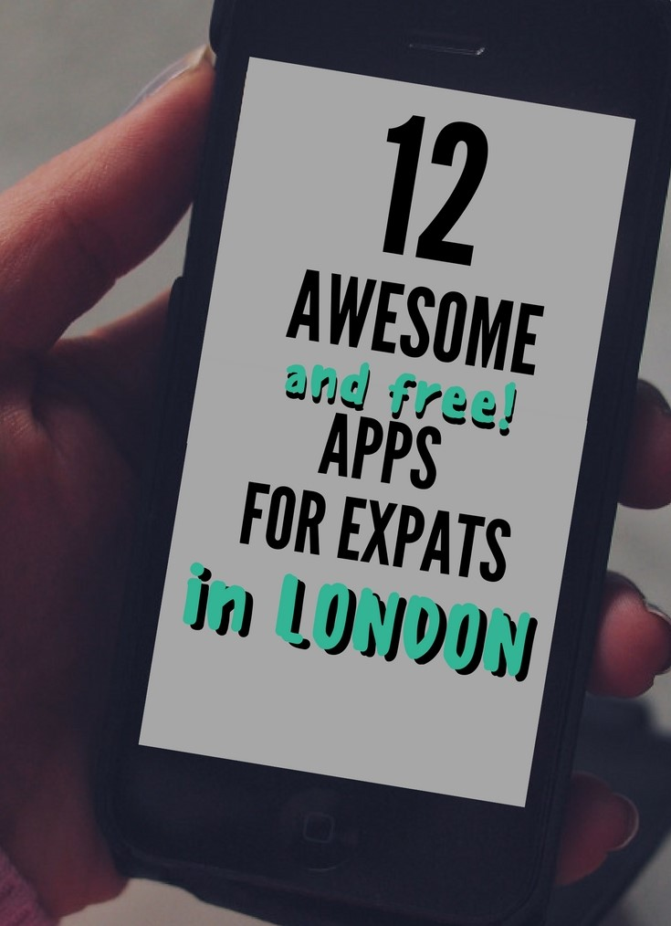 12 Awesome & FREE iPhone Apps for Expats in London