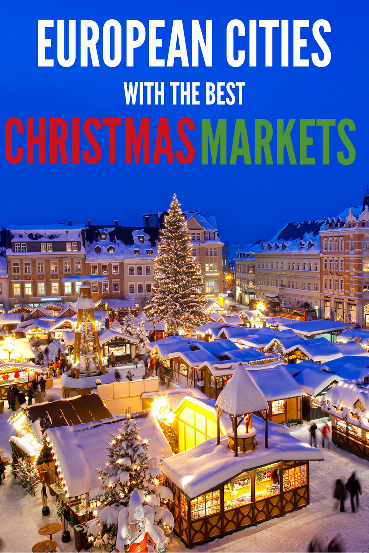 european cities with the best christmas markets