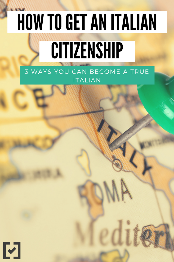 How to get Italian citizenship