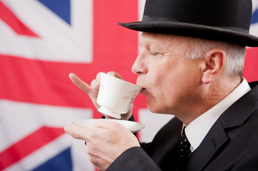 Image result for english people drinking tea