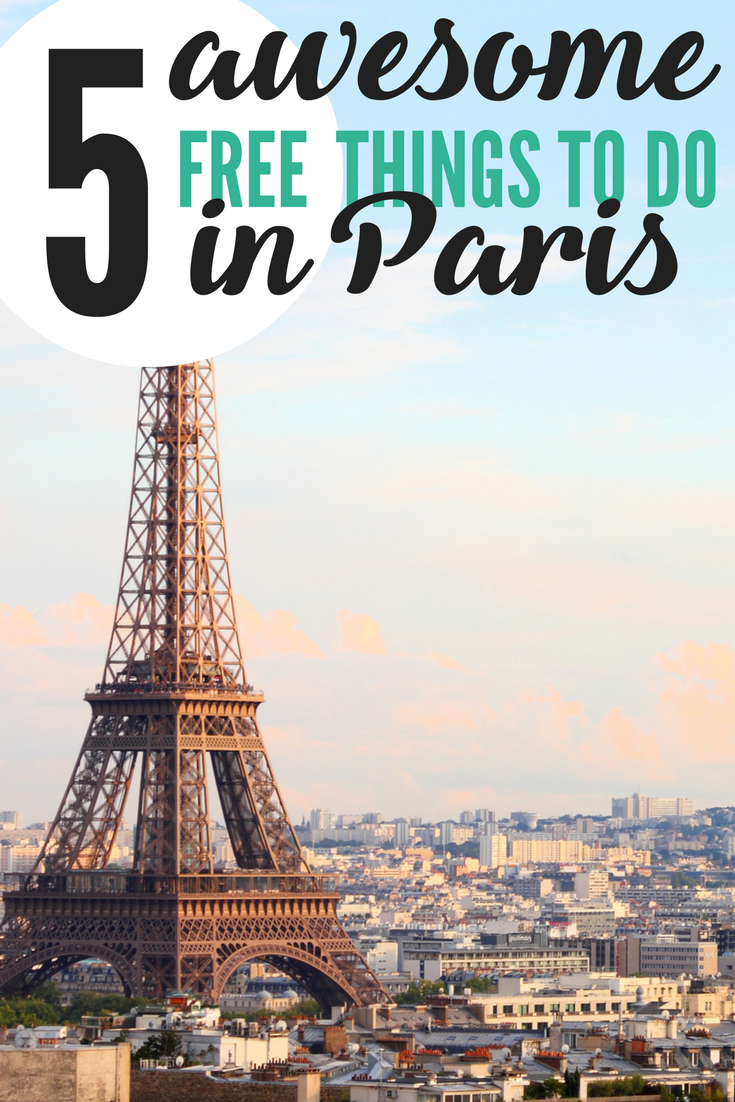 free things to do in paris 2017